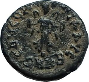 THEODOSIUS-II-425AD-Cyzicus-Authentic-Ancient-Roman-Coin-VICTORY-FACING-i66383