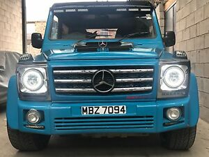 MERCEDES-G-WAGON-G-WAGEN-DIESEL-AMG-KIT-MODIFIED-CUSTOM-22-ALLOYS-CHEAP-PROJECT