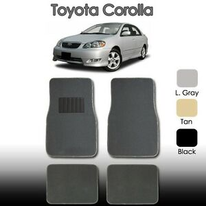 2000 2006 2007 2008 2009 for toyota corolla floor mats. Black Bedroom Furniture Sets. Home Design Ideas
