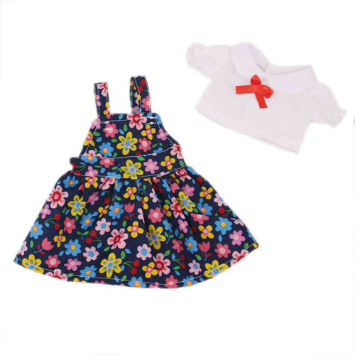 For''18-inch American Girl Doll Skirt Handmade Two-piece doll set Accessories