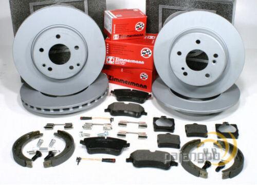 Mercedes SLK R171 Zimmermann Bremsen Set Handbremse für vorne hinten*