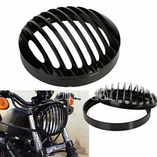 Aluminum Grill Head Light Cover Harley Davidson Motorcycle Sportster XL 883 1200