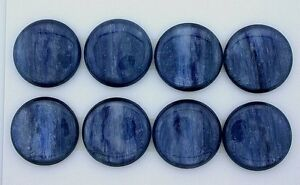 ONE 29x12 Pear Polished Double Sided Silver Flash Kyanite Cab Cabochon Gemstone