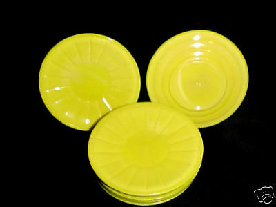 Akro Agate Large Stacked Disc /& Panel Opaque Yellow PLATES