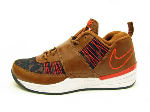 2013 Nike Zoom Revis TXT EXT SZ 9.5 Ale Marronee Leather Camo arancia QS 599450-200