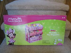 Image Is Loading Minnie Mouse Toy Organizer Storage Multi Bin Children