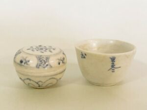 Two-Pieces-Antique-Chinese-Poreclain-Samll-Items