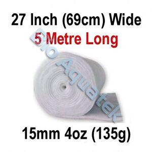 5 mètres - 5m dacron Aquarium étang filtre médias Floss LAINE OUATE - 15mm - 4oz-afficher le titre d`origine 8Ec2Sndm-07204827-276546011