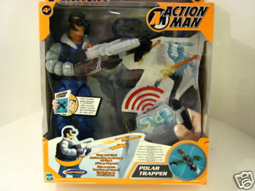 ACTION MAN -  POLAR TRAPPER ELECTRONIC  - ORIGINALE HASBRO