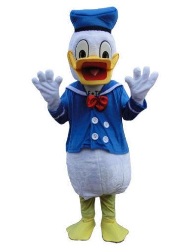 Vestido de fiesta 2Pcs Pato Donald /& Daisy Halloween Disfraz Cosplay de Mascotas Adultos Reino Unido