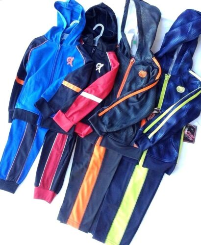 Boys Hooded Basketball Warm up suit  New choice Color /& size 4 to 5//6 New