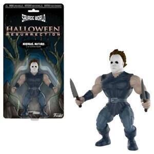Halloween-Savage-World-Action-Figure-Michael-Meyers-15-cm-New-KA9