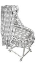 Baby Stubenwagen Eule Babykorb Bettwäsche Untergestell EU-Produkt Design 7W