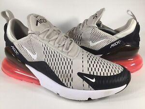 Details about Nike Air Max 270 Light Bone Hot Punch Black Mens Size 13 Rare AH8050 003 Running