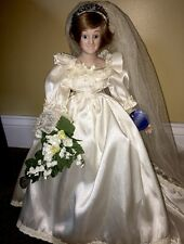 Princess Diana Porcelain Bride Royal Wedding Doll
