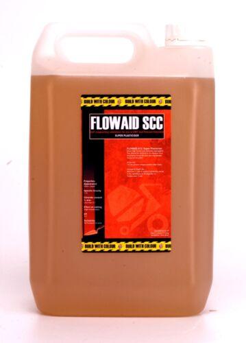 Hormigón Super plasticiser: 5litre Agua reducingflowaid SCC superplasticizer