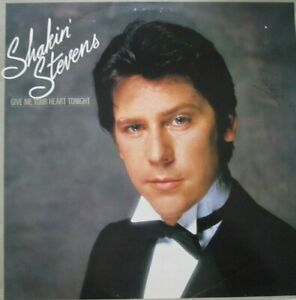 SHAKIN-039-STEVENS-GIVE-ME-YOUR-HEART-TONIGHT-LP