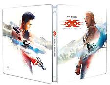 XXX - IL RITORNO DI XANDER CAGE - STEELBOOK EDITION (BLU-RAY) con VIN DIESEL