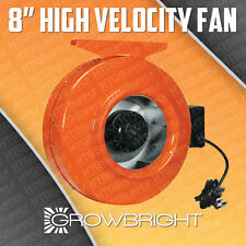 New 8 Inch Inline Exhaust Cooling Duct Fan Vent Blower