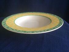 "Villeroy & Boch /Gallo Switch Summerhouse Acacia 9 1/2"" soup bowl (glaze flaws)"
