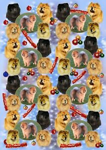 Chow-Chow-Dog-Christmas-Gift-Wrapping-Paper-by-Starprint-1-semi-gloss-sheet