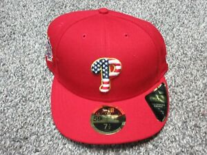 New-Era-Philadelphia-Phillies-4th-of-July-Stars-Stripes-Hat-7-1-2-Low-Profile