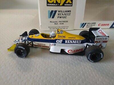 Onyx 140 Williams Renault F1 1:43 Riccardo Patrese NEU und OVP