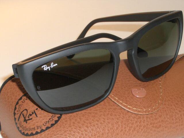 fb3455cfa18 Vintage B l Ray-Ban Ps1 Shiny Jet Black G15 UV Cats Predator Series  Sunglasses