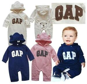 bda6f5803 New Baby Gap Girls Boys Long Sleeves One Piece Jumpsuit Clothes Size ...
