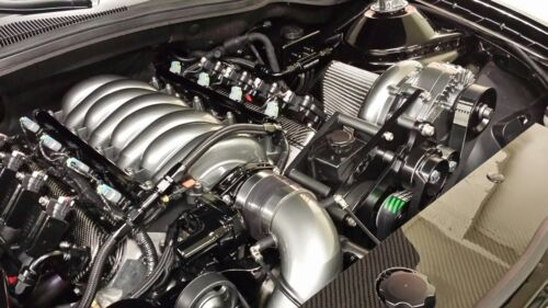 L99 T /& GM QC 2010-2014 Camaro BLUE Z947 LS3 8AN fuel rails kit w//fittings