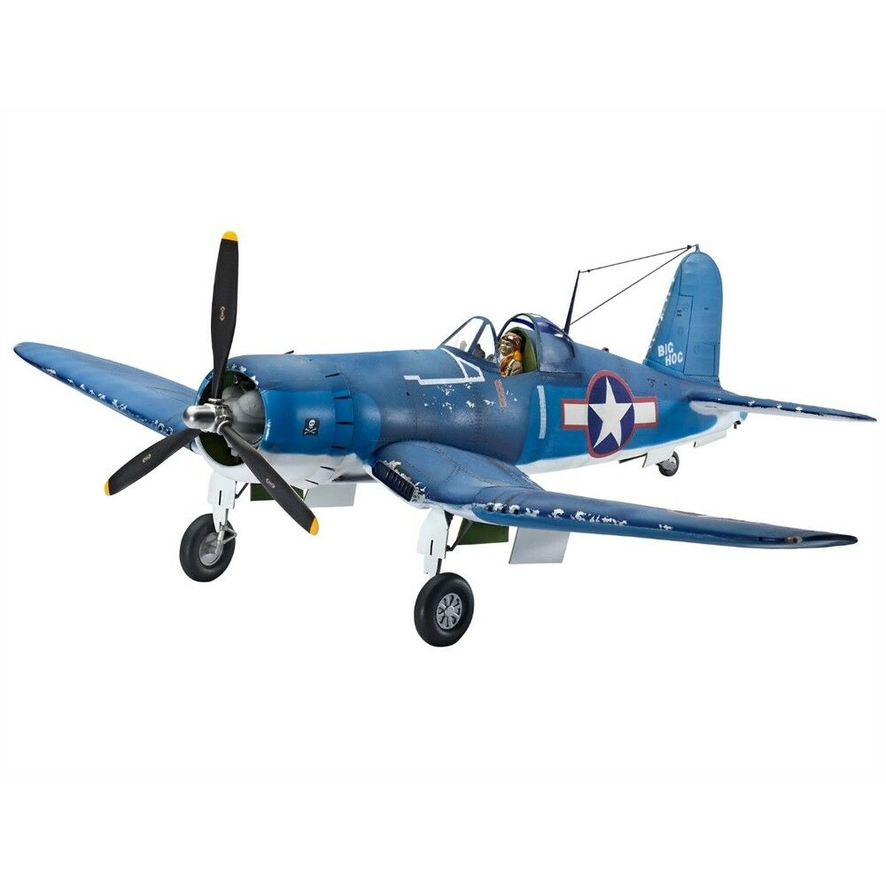 1 32 Revell Vought F4u -1 Corsair Avion - F4u1a 132 modelllllerler Kit skala plan 04781
