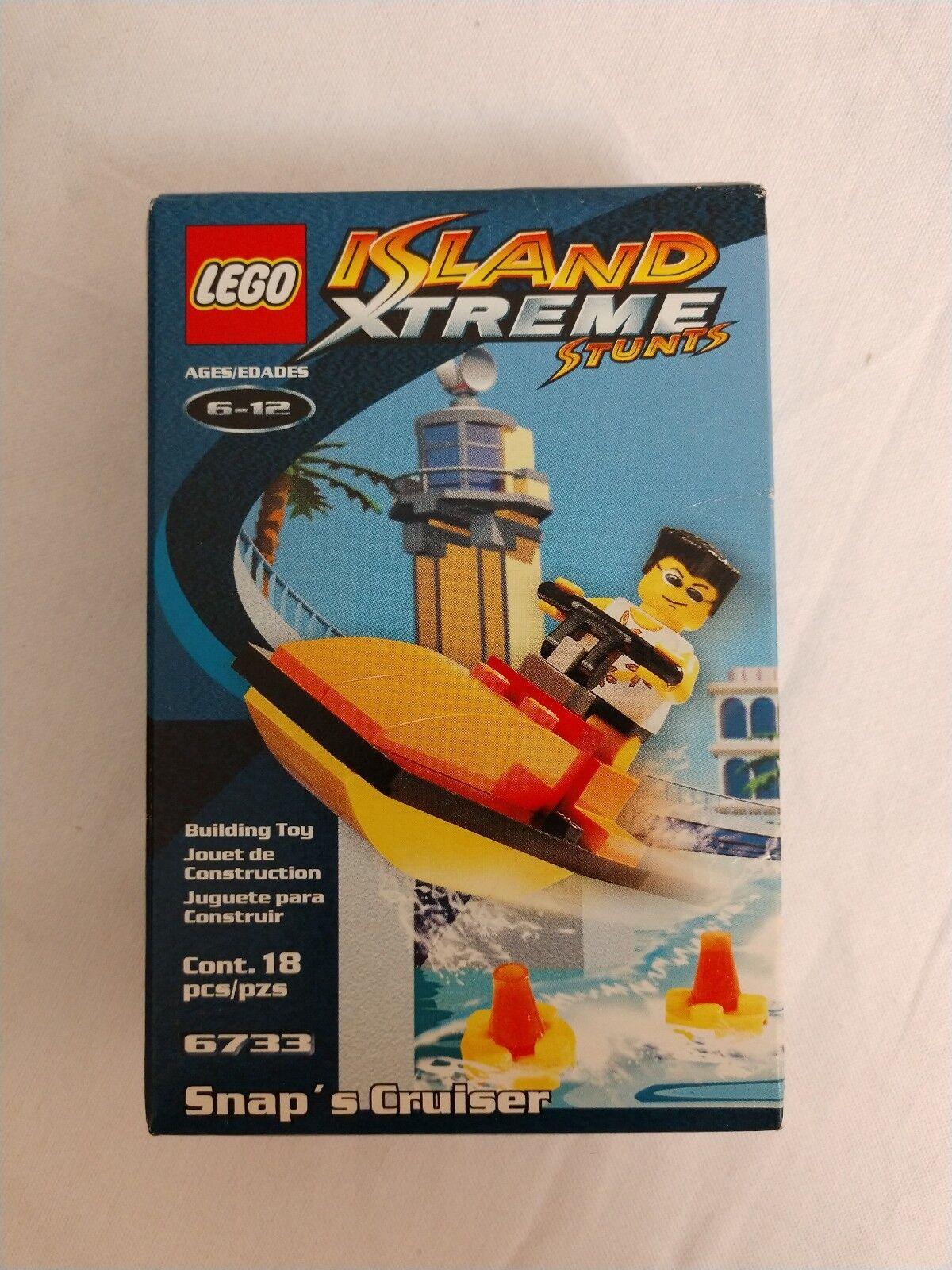 LEGO Island Xtreme Stunts 6733 Snap's Cruiser. Free Delivery