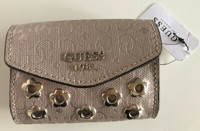 Guess Purse & Shoulder Chain Los Angeles 1981 Pink Gloss | eBay