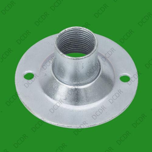 12x filetage 20mm bzp acier conduit boîte vissé dome cover round top couvercle hermétique