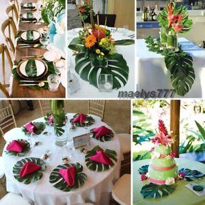 Feuille De Palmier Decoration Tropicale Salle Mariage Maison Bapteme