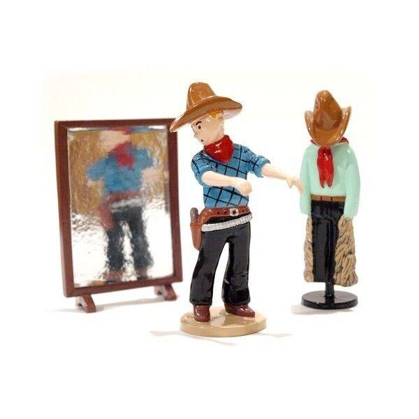 Kuifje cowboy kleding passen - Tintin Kuifje original from Pixi Paris with Box a