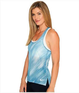 0defb8ff1de Nike Women s Breathe Printed Running Training Tank Top size Small ...