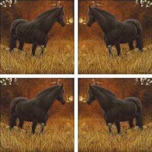 Horse-Accent-amp-Decor-Tile-Set-Ryan-Ceramic-Backsplash-Equine-Art-EWH-LMR001