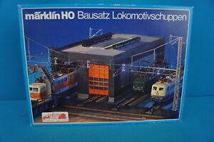 Marklin-7289-Lok-Shed-for-2-locomotives-build-Kit-HO
