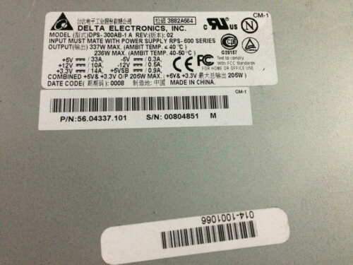 Details about  /1pcs Used Delta DPS-300AB-1 Power Supply