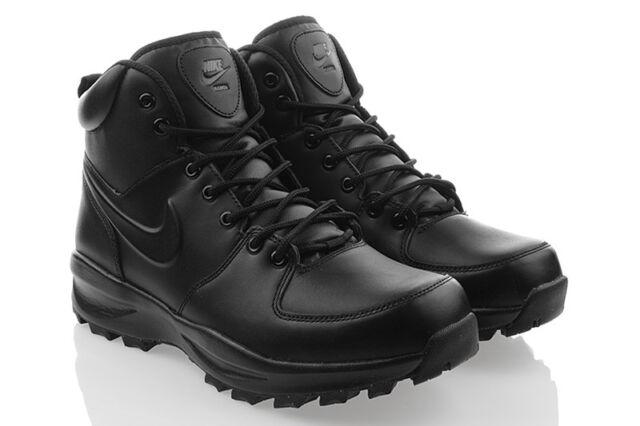 Nike Manoa Leather Stivaletti Uomo Nero 41 EU  a4544227b19