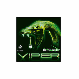 Dr.Neubauer Viper Long Pimple Rubber , OX(no sponge) , Black
