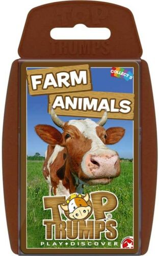 Top Trumps Farm Animals Brand New