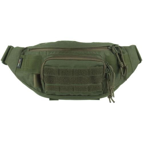 Wisport Gekon Military Waist Pack Modular Hunting Patrol Fanny Bag Olive Green