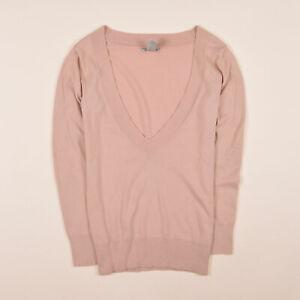 GAP-Damen-Pullover-Sweater-Strick-Gr-S-DE-36-Tunika-Kaschmir-Beigetone-77958