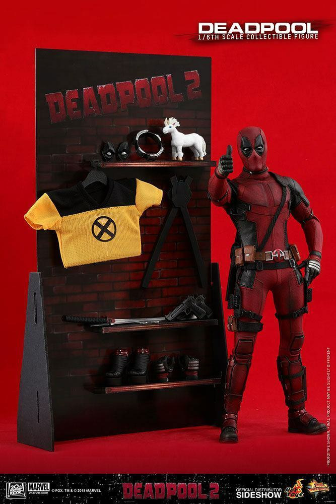 Marvel  Deadpool 2 2 2 – Deadpool (Wade Wilson) 1 6 Action-Figur 12″ Hot Toys 8e177c