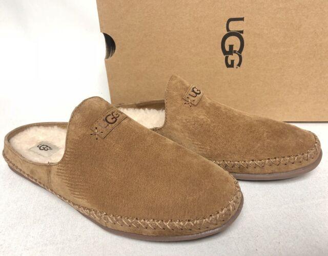 83f63b66083 UGG Australia Tamara Chestnut Moccasin Slipper Suede shoes slip womens  1019249