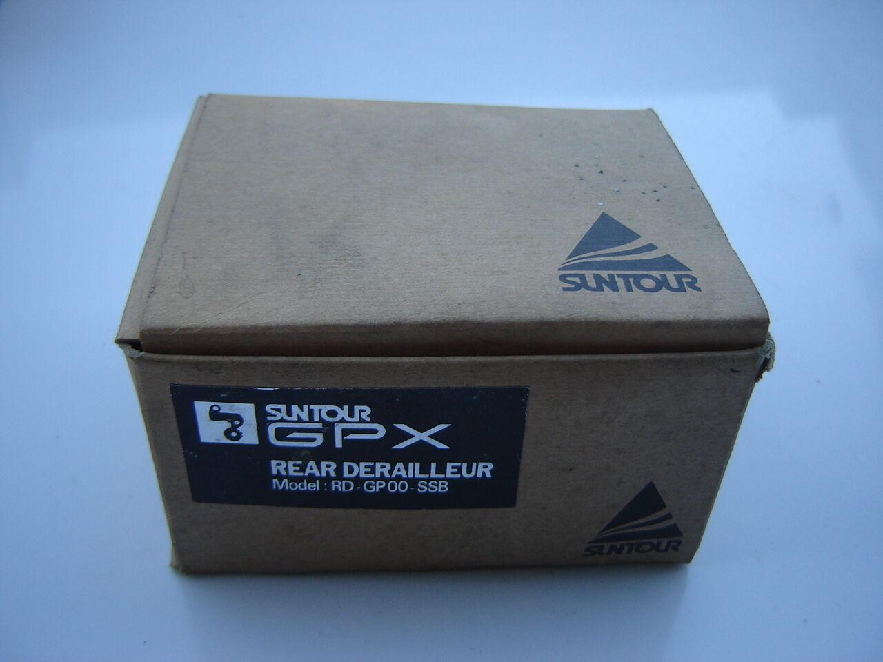SUNTOUR GPX RD-GP00-SSB REAR DERAILLLATE  80's - NOS - NIB  cheap online