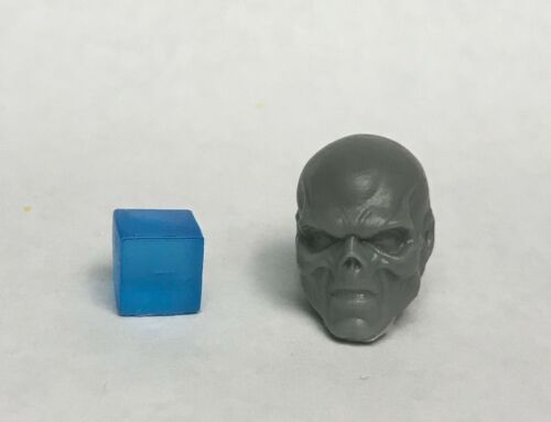 Marvel Legends ML SDCC Red Skull /& Tesseract 1:12 Scale Custom Sculpt Head