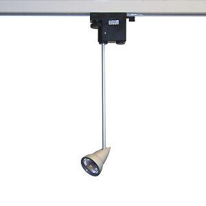 halogen led strahler 3 phasen stromschiene dimmbar gu5 3 mr16 shop leuchte laden ebay. Black Bedroom Furniture Sets. Home Design Ideas